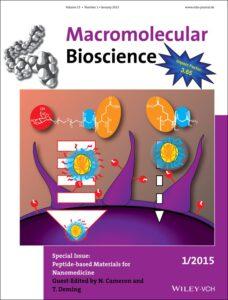 Cover picture in Macromolecular Bioscience - Heller et al. 2015