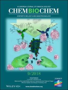 Cover picture in ChemBioChem - Prof. Dr. Pol Besenius et al 2018
